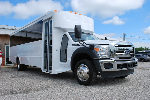 22 Passenger Party Bus Rental Akron Ohio