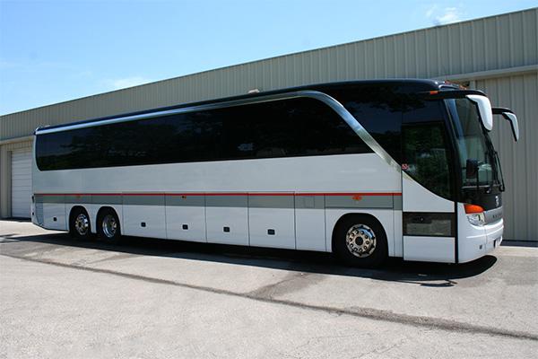 Akron 56 Passenger Charter Bus